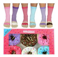 United Odd Socks Donuts 6 sokken maat 37-42-commercieel beeld