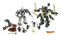 LEGO Ninjago 70737 Le duel de Titan et Mech-enstein-Avant