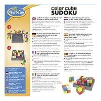 Color Cube Sudoku-Achteraanzicht