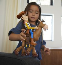 Figurine articulée Toy Story 4 Woody & Pil-Poil-Image 1