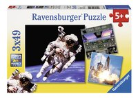 Ravensburger puzzle 3 en 1 Dans l'espace-Avant
