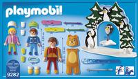 PLAYMOBIL Family Fun 9282 Moniteur de ski avec enfants-Arrière