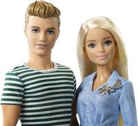 Barbie poupée mannequin  Barbie et Ken avec chiot-Détail de l'article
