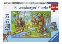 Ravensburger Puzzel 2-in-1 Dieren uit het bos