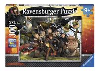 Ravensburger XXL puzzel Dragons Trouwe vrienden