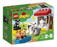 LEGO DUPLO 10870 Boerderijdieren-Vooraanzicht