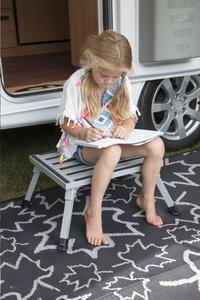 Bo-Camp tapijt LeevZ Chill Mat Dove grijs-Afbeelding 1