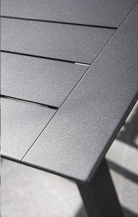 Ocean verlengbare tuintafel Lanna charcoal L 160 x B 90 cm-Artikeldetail