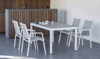 Tuinset Jura/Bondi L 150 x B 100 cm Wit-Afbeelding 1