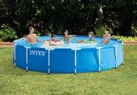 Intex zwembad Metal Frame pool diameter 4,57 m-Afbeelding 1
