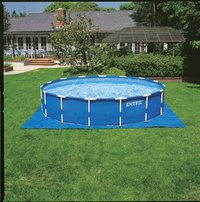 Intex piscine Frame Pool diamètre 5,49 m-Image 1