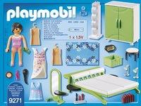 PLAYMOBIL City Life 9271 Slaapkamer met make-up tafel-Achteraanzicht
