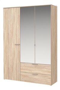 Chambre Young lit mi-hauteur/bureau + garde-robe 3 portes-Détail de l'article