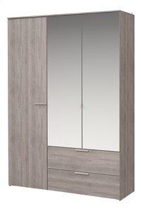 Chambre Tempo lit + bureau + garde-robe 3 portes-Détail de l'article