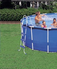 Intex zwembad Metal Frame Pool diameter 5,49 m-Afbeelding 3