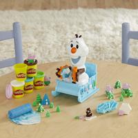 Play-Doh Disney La Reine des Neiges II Le traîneau d'Olaf-Image 1