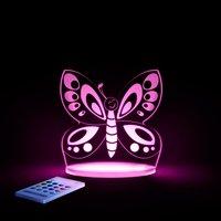 Aloka nachtlamp SleepyLight vlinder-Afbeelding 2