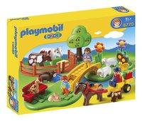 Playmobil 1.2.3 6770 Coffret Famille à la campagne
