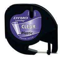 Dymo vulling voor labelprinter Letratag Clear Plastic-Vooraanzicht