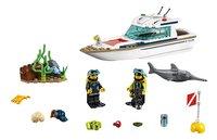 LEGO City 60221 Duikjacht-Vooraanzicht
