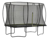 EXIT ensemble trampoline Silhouette L 3,66 x Lg 2,44 m noir-Côté gauche