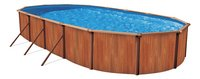Atlantic Pools zwembad Esprit II Redwood 5,49 x 3,66 m