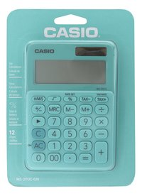 Casio calculatrice Colorful MS-20UC vert clair-Avant