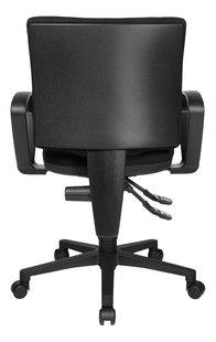 Topstar bureaustoel met armleuningen U50 zwart-Achteraanzicht