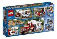 LEGO City 60182 Pick-uptruck en caravan-Achteraanzicht