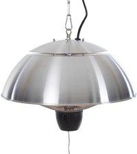 Sunred Elektrische hangende terrasverwarmer Mushroom 1500 W inox-Vooraanzicht