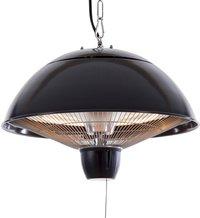 Sunred Elektrische hangende terrasverwarmer Mushroom 1500 W antraciet-Vooraanzicht