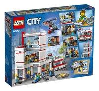 LEGO City 60204 L'hôpital-Arrière