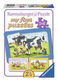 Ravensburger Puzzel 3-in-1 My First Goede vrienden-Vooraanzicht