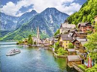 Ravensburger Puzzel Hallstat in Oostenrijk-Vooraanzicht