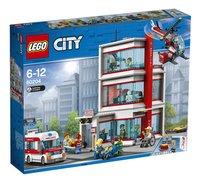 LEGO City 60204 L'hôpital-Côté gauche