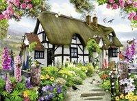 Ravensburger puzzel Idyllische Cottage-Vooraanzicht