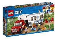 LEGO City 60182 Pick-uptruck en caravan-Linkerzijde