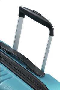 American Tourister Harde reistrolley Tracklite Spinner sky blue 55 cm-Bovenaanzicht