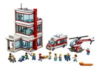 LEGO City 60204 L'hôpital-Avant