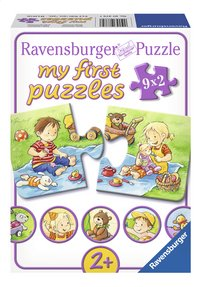 Ravensburger 9 puzzles My First Petits aventuriers-Avant