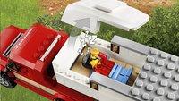 LEGO City 60182 Pick-uptruck en caravan-Artikeldetail
