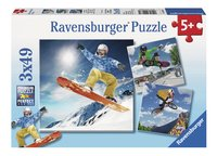 Ravensburger Puzzel 3-in-1 Extreme sport