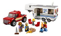 LEGO City 60182 Pick-uptruck en caravan-Vooraanzicht