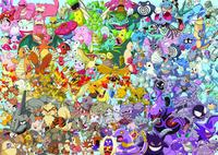 Ravensburger puzzel Challenge - Pokémon-Vooraanzicht