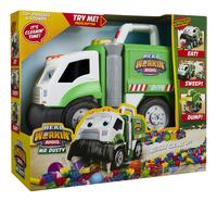 Vrachtwagen Mr. Dusty-Linkerzijde