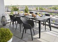 Allibert Table de jardin Lima gris graphite L 240 x Lg 97 cm-Image 3