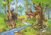Ravensburger puzzle 2 en 1 Animaux de la forêt-Détail de l'article