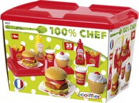 Écoiffier set fast food 100 % chef-Avant