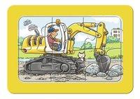 Ravensburger Puzzel 3-in-1 My First Graafmachine, tractor en kiepauto-Artikeldetail