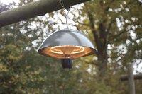 Sunred Elektrische hangende terrasverwarmer Mushroom 1500 W antraciet-Afbeelding 1